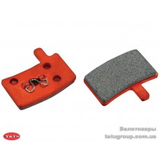 Колодки торм диск JAGWIRE Red Zone Comp DCA073 - Hayes Stroker Trail/Carbon/Gram