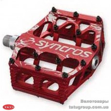 Педали  Syncros  MEAT HOOK RED /  Alloy Pedal Body / V9 pins