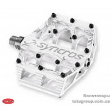 Педали  Syncros  MEAT HOOK WHITE /  Alloy Pedal Body / V9 pins